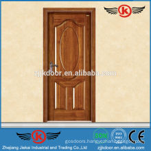 JK-SD9009 CE And ISO Approved solid wood entry door//flat solid wood doors