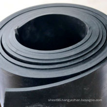 Industrial Smooth Black SBR Rubber Sheet for Workshop