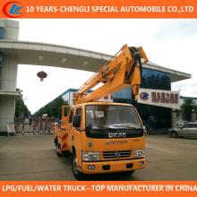 Caminhão de operação da plataforma alta do caminhão 12-16m da cubeta