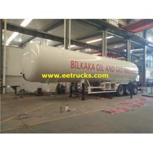 54000 Liters LPG Propane Tanker Trailers
