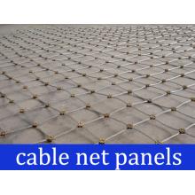 Rock Stabilization Cable Net Panels