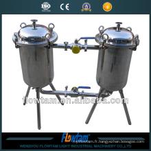 Filtre industriel à deux barils
