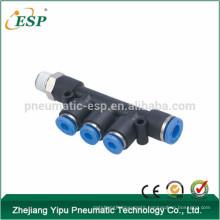 ESP PKD Male Reducer Triple Branch air fittings push in tube fittings