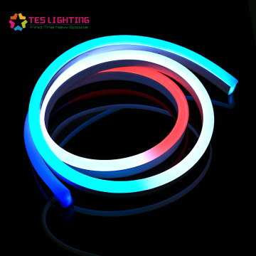 tiras de neón flexled led neon dmx ip68