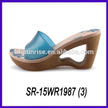 high heel lady flip flop slipper