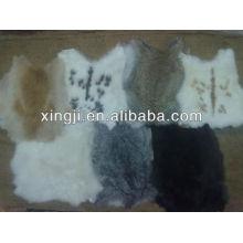 conejo real suave para la piel de conejo chino