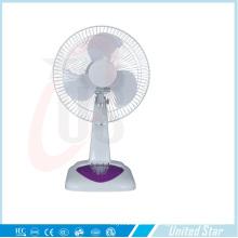 Solar AC DC Rechargeable Fan Standing Fan Battery Charger Table Fan (QM850)