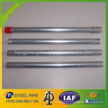 BS1387 / ASTM A53 Tube galvanisé / tube GI