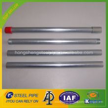 BS1387 / ASTM A53 Tubo galvanizado / tubo GI
