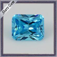 Diversas piedras de aguamarina natural de corte de diamante suelto (STG-20)