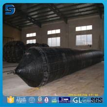 Alta capacidad contra compresión y torsión. Airbag de goma infalable duradero para buque / buque / barco Applicaton