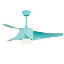 Ventilateur de plafond Tiffany avec lumière