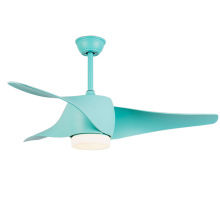Ventilador de teto Tiffany com luz