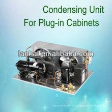 R22 r404a охладительный компрессор конденсаторный агрегат небольшие низкотемпературные холодильные агрегаты на продажу