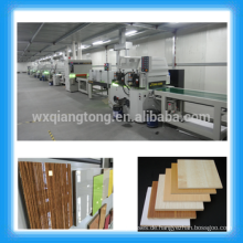1220x2440mm MDF Hochglanz UV Lackiermaschinen / Möbel / Metall / Kunststoff / Keramik UV Beschichtung Linien