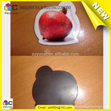 Imanes de nevera de fruta y verdura de buena calidad y pegatina de imán de plástico