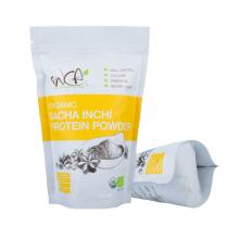 Custom Logo Reusable Zipper Zip Lock Biodegradable Food Grade Stand up Pouch Plastic Bag