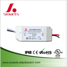 CE UL listed DC30-60v single output 350mA 21w constant current led driver