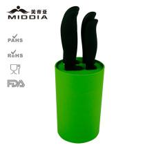 Cuchillo de cocina de cerámica Mulity Function con bloque