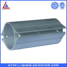Tubo de alumínio fazendo à máquina personalizado do CNC para encaixes industriais