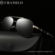 High quality UV400 glasses fashion polarized  sunglasses women men  retro polarized sunglasses  2018