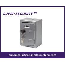 Metal Locker Bank Safe Money Box with Combination Lock (STB1911)