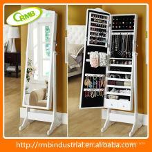 Espejo de tocador / armario de la joyería