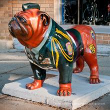 Hot sale Bronze Bulldog Statue