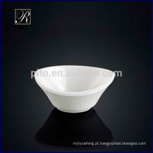 Fábrica de porcelana de P & T, prato oval agradável do saucer do projeto oval, prato do wasabi da manteiga do prato
