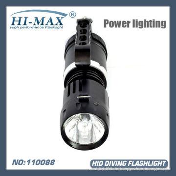 45W VERSTECKTE Xenon-Tauchen-Fackel-Taschenlampe