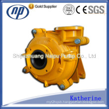 Rubber Lined Single Stage Horizontal Slurry Pump (AHR)