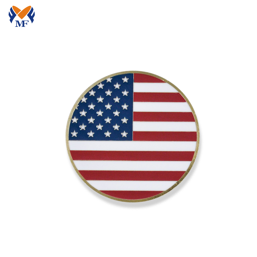 Personalized Flag Coin