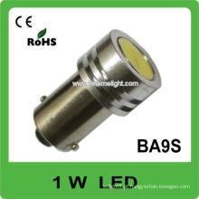 Emitindo a cor branca BA9S 1W poder superior conduziu a lâmpada do carro