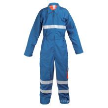 Vestuário de proteção retardador de fogo azul-Yb-Zrf-1302