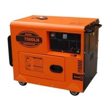 Экономичный бесшумный дизельный генератор с воздушным охлаждением