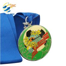 Free Design Factory Price Customizable Marathon Custom Military Medal Ribbons Factory