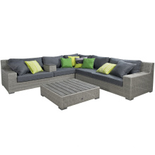 Garten Rattan Peddigrohr Patio Sofa Set Gartenmöbel