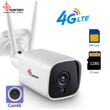 2MP draadloze 4G CCTV-camera