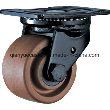 Nylon Casters with Low Center of Gravity 280° High Temperature Caster Wheel