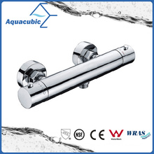Bathroom Brass Chromed Anti-Scald Thermostatic Shower Faucet (AF4223-7)