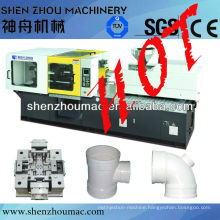 machine pvc pipe fitting/plastic pipe fitting machine /injection molding machine