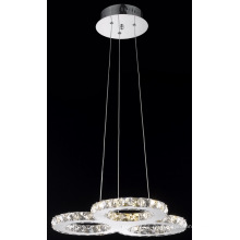 Späteste Entwurfs-moderne Kristall-LED-hängende Beleuchtung (MP77057-27)