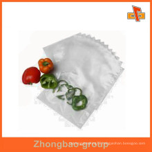 food grade sachet transparent nylon bag for vagetables/fruits packaging