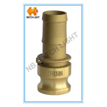 Brass Adapter Type E Cam and Groove Hose Fitting