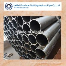 Tubo sem costura e tubulação para transporte de fluidos / recuperação de calor