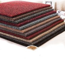 Free samples soft rubber flooring / PVC Vinyl Loop Mats/pvc carpet