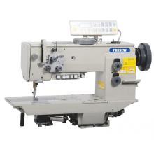 Máquina de coser de alta resistencia de alimentación compuesta de una sola aguja con cortahilos automático