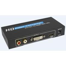 Conversor DVI + Audio to HDMI