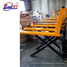 1000kg 1500kg Manual High Lift Hand Pallet Truck