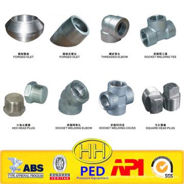 Soquete ANSI B16.11 e conexões roscadas forjadas em aço carbono